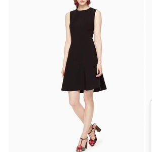 Kate Spade Fit and Flare Little Black Career Dress